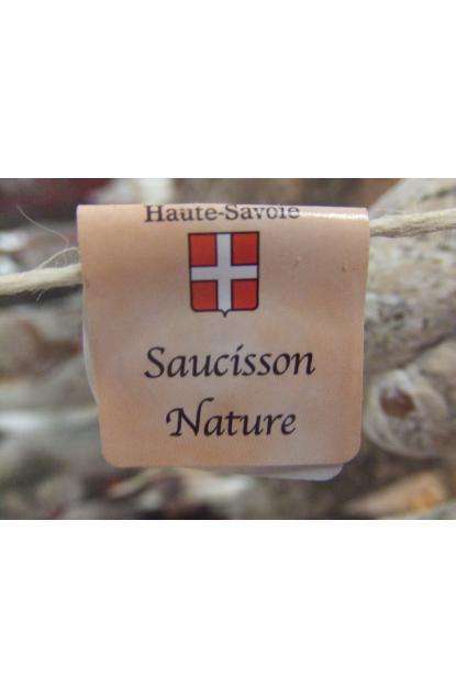 Saucisson pur porc nature
