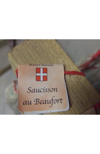 Saucisson sec pur porc de Savoie au Beaufort