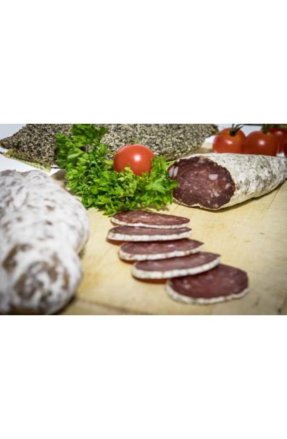 Pure pork dried sausage of Savoie in Beaufort