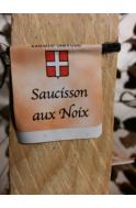 Saucisson sec de Savoie aux noix