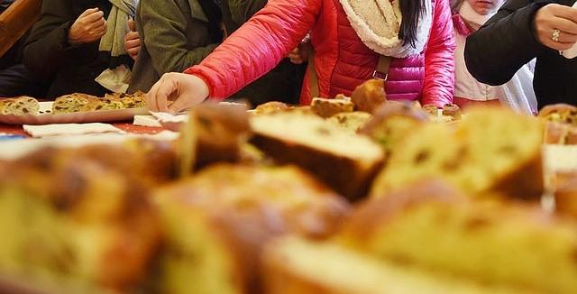 Cake saucissons et lardons